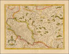 Poland Map By Gerhard Mercator