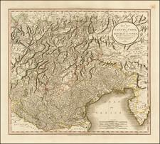 Austria, Balkans and Italy Map By John Cary