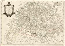 Hungary, Romania, Czech Republic & Slovakia and Balkans Map By Paolo Santini