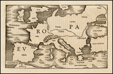 Europe Map By Caius Julius Solinus