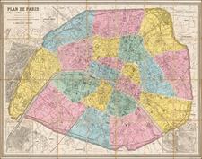 Map By Eugène Andriveau-Goujon