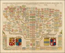 British Isles Map By Henri Chatelain