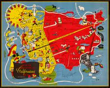 California Map By Oren Arnold