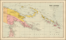 Southeast Asia, Other Islands and Other Pacific Islands Map By Edward Stanford