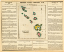 Caribbean and Other Islands Map By Henry Charles Carey  &  Isaac Lea