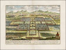 China Map By Johann Bernhard Fischer von Erlach