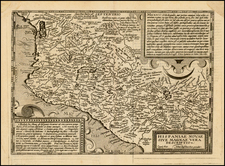Mexico Map By Matthias Quad - Johann Bussemachaer