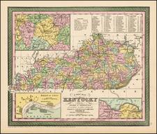 South Map By Thomas, Cowperthwait & Co.