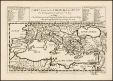 Mediterranean Map By Pierre Du Val