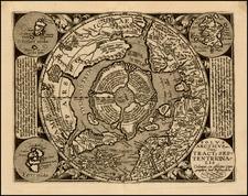 Northern Hemisphere and Polar Maps Map By Matthias Quad