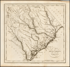 Southeast and South Carolina Map By John Stockdale