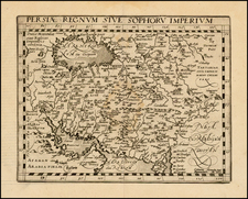 Central Asia & Caucasus, Middle East and Persia & Iraq Map By Matthias Quad / Johann Bussemachaer