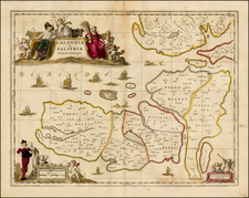Denmark Map By Moses Pitt