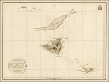 Caribbean and Other Islands Map By Cosme Damian de Churruca y Elorza