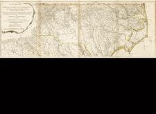 Southeast Map By Henry Mouzon