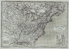 United States, Midwest, Plains and Canada Map By Charles V. Monin