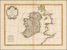 Ireland Map By Jean Lattre