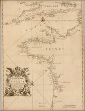 British Isles and France Map By Christopher Browne