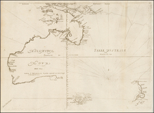Australia and New Zealand Map By Melchisedec Thevenot