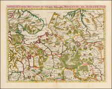 Russia Map By Henri Chatelain