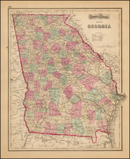 Southeast Map By Frank A. Gray