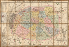 France Map By Auguste Logerot