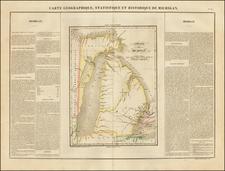 Midwest Map By Jean Alexandre Buchon