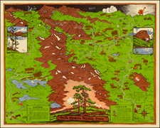 Rocky Mountains Map By Rocky Mountain Motor Co.