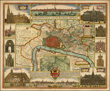 Map By Peter Schenk / Claes Janszoon Visscher
