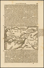 Middle East and Turkey & Asia Minor Map By Caius Julius Solinus