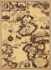 New England Map By Elizabeth Shurtleff