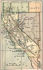 California Map By The Bradstreet Company