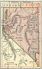 Southwest and California Map By The Bradstreet Company