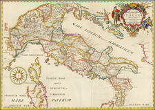 Italy Map By Giovanni Giacomo Spinelli
