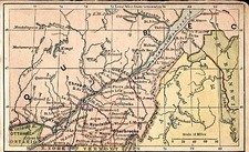 Canada Map By The Bradstreet Company