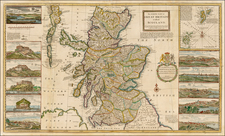 Scotland Map By Herman Moll