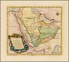 Middle East Map By Thomas Salmon