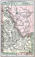 Rocky Mountains Map By The Bradstreet Company