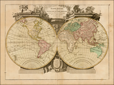 World and World Map By Jean Janvier