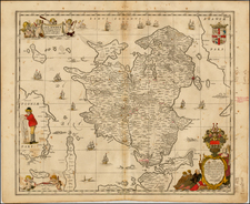 Scandinavia and Denmark Map By Moses Pitt
