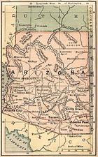 Southwest Map By The Bradstreet Company