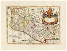 Mexico Map By Peter Schenk  &  Gerard Valk