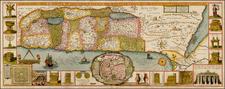 Holy Land Map By Jacobus Tirinus