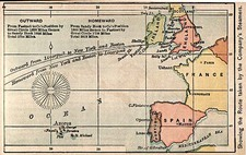 Europe, British Isles, France and Spain Map By The Bradstreet Company