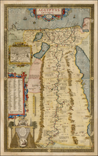Egypt Map By Abraham Ortelius