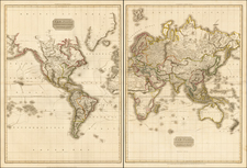 World, World, Pacific and Oceania Map By John Pinkerton