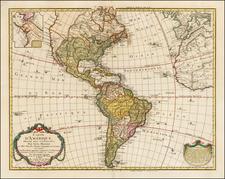 America Map By Guillaume De L'Isle / Philippe Buache