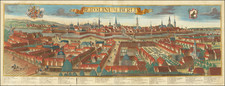 Germany Map By Georg Balthasar Probst