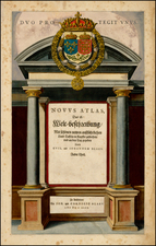 [Title Page] Novus Atlas . . .  (Heightened in Gold) By Willem Janszoon Blaeu