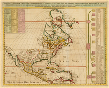 North America Map By Henri Chatelain